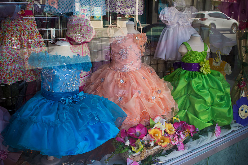 Girls Dress Shop, Union City<br /> ©2016 Peter Aldrich