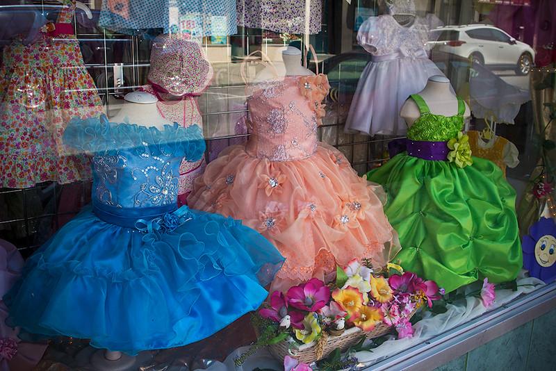 Girls Dress Shop, Union City<br /> ©2016 Peter Aldrich