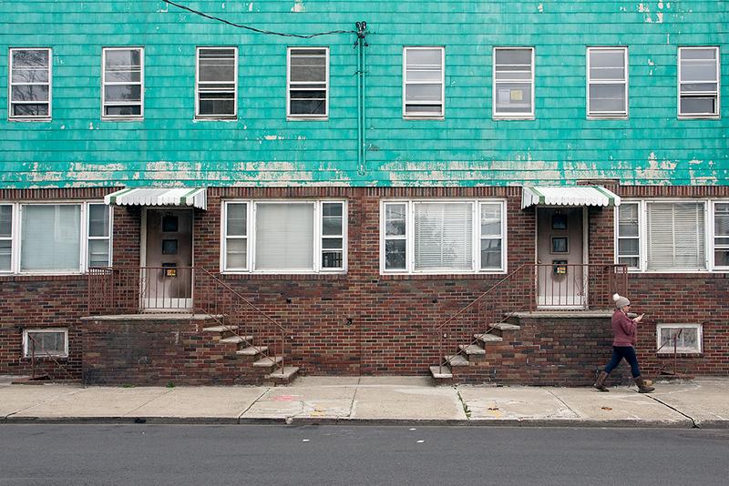 Opposing Entrances, Jersey City<br /> ©2020 Peter Aldrich