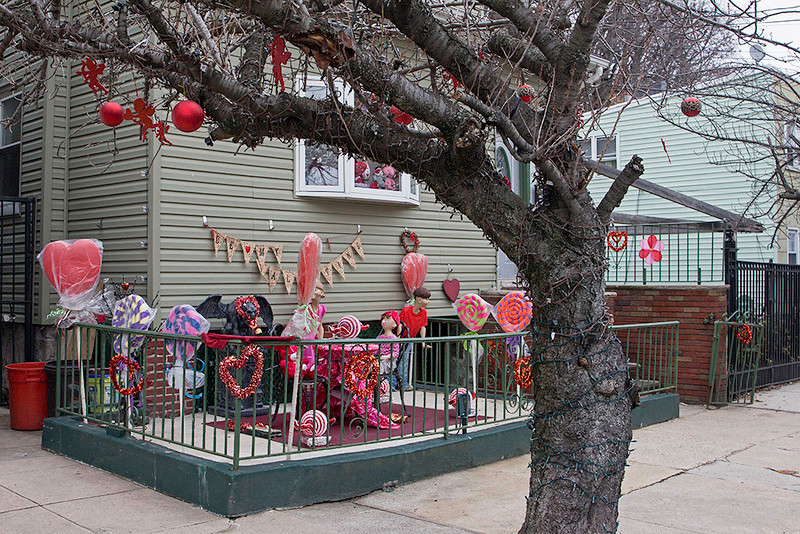 Celebrating Valentines Day, Weehawken, NJ<br /> ©2017 Peter Aldrich