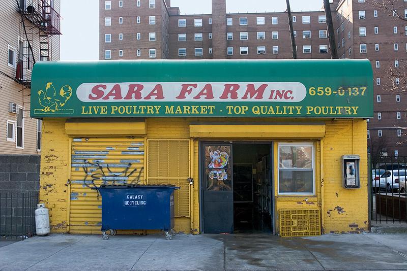 Live poultry market, Hoboken<br /> ©2006 Peter Aldrich