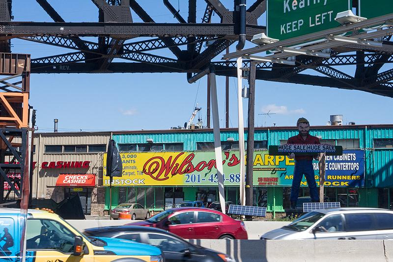 Scene along Route 1-9, Jersey City<br /> ©2019 Peter Aldrich