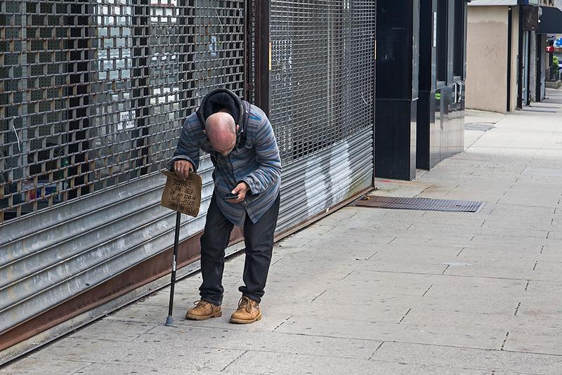 Desperate For Help, Jersey City<br /> ©2021 Peter Aldrich