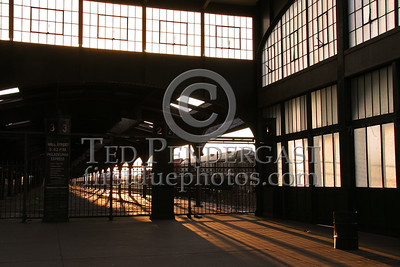 Abandoned Terminal 2 - Central Railroad Of New Jersey Terminal at Liberty State Park in Jersey City New Jersey
