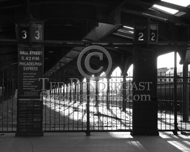 Missed Train - Central Railroad Of New Jersey Terminal at Liberty State Park in Jersey City New Jersey