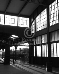 Abandoned Terminal 1 - Central Railroad Of New Jersey Terminal at Liberty State Park in Jersey City New Jersey