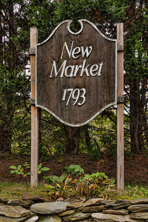This is my attempt to characterize New Market, MD