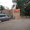 This was my destination at Taos.  After I checked into my room I walked over to Eske's Brew Pub for a brew.