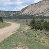 AtomicXRer riding on a cow trail?  This is 112.  Fairly large graveled dirt road that will take you right to El Vado lake.