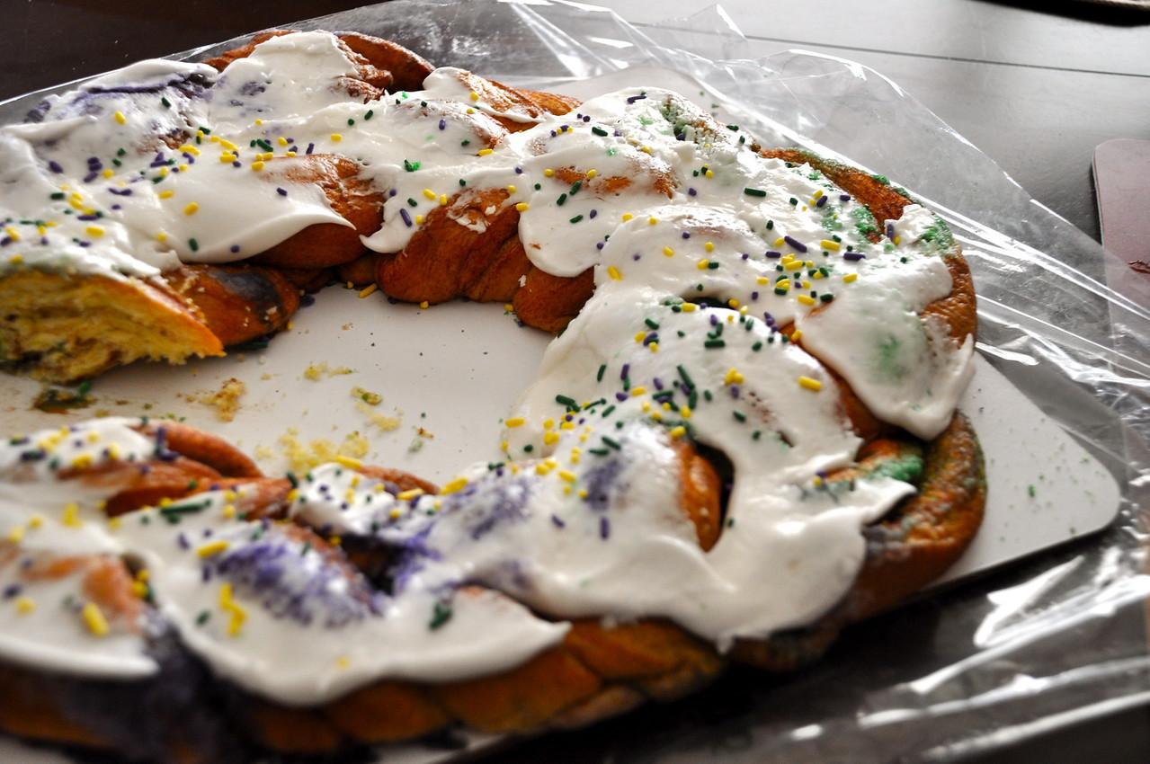 Randazzo King Cake!  YUM!