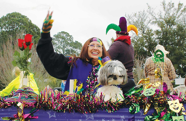 2014 Gulf Shores Mardi Gras Parade