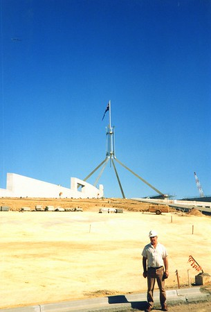 New Parliament House 1988