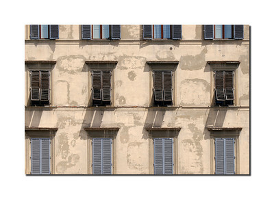 Windows, Florence, Italy