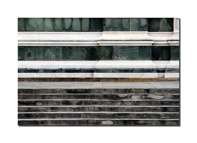 Santa Croce Steps, Florence, Italy