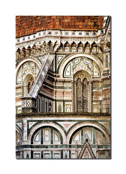 Duomo Detail, Florence, Italy