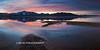 Lake Tahoe East Cove Sunset 24x12