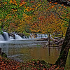 Another view of right side of Sandstone Falls