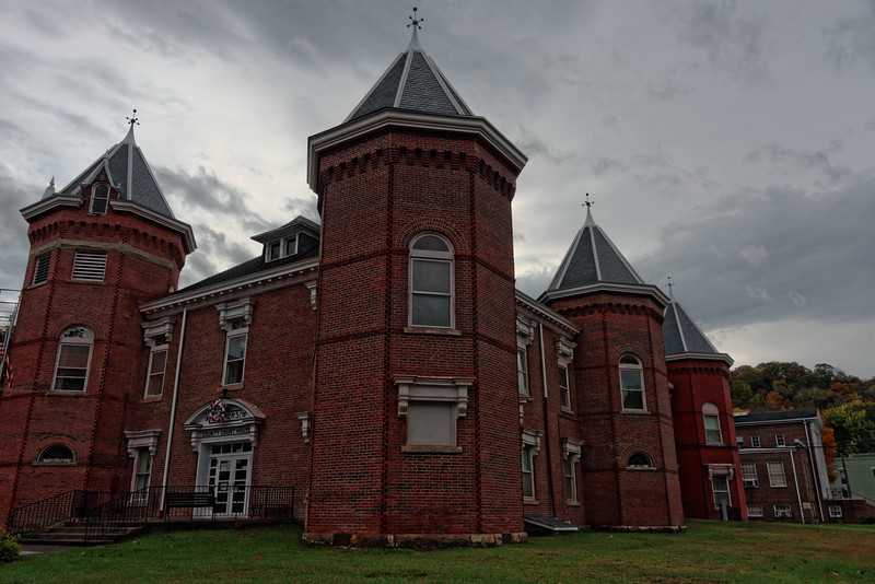 Summers County, WV, Courthouse.  1875-76. Late Victorian Style.