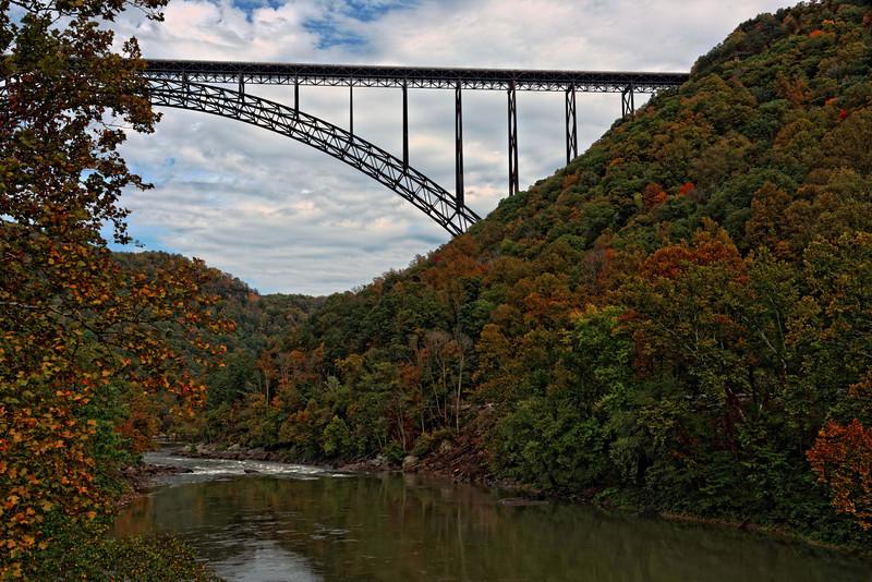 New River Gorge Bridge View 4