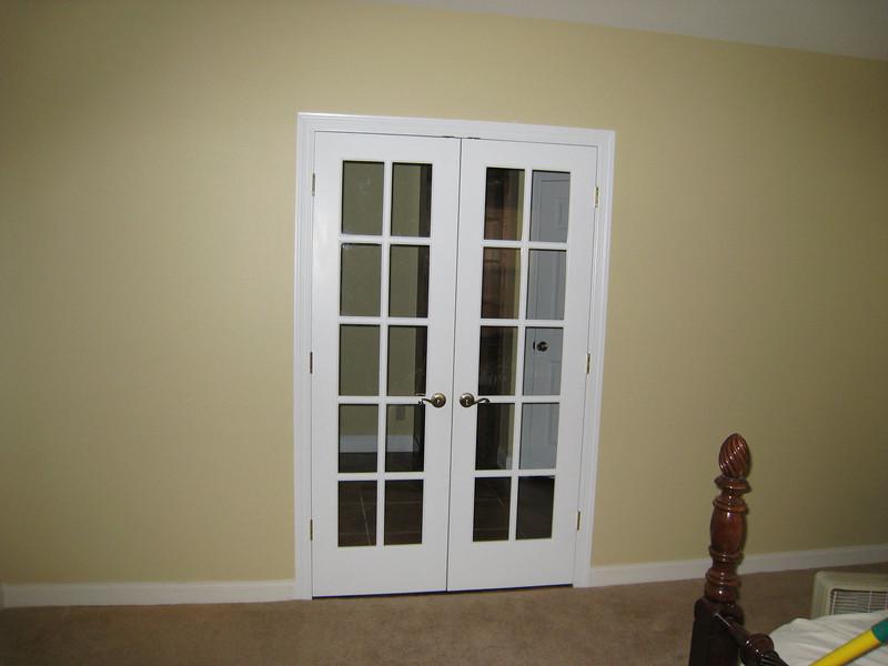 Door from our bedroom