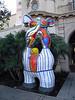 """Nikki de St.-Phalle, """"Poet and Muse"""" Balboa Park, San Diego, 25 Nov 2011"""