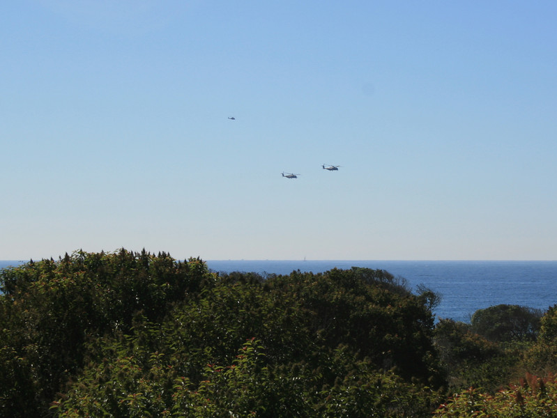 Helicopters, Point Mugu State Park, 9 Oct 2011