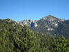 Lily Rock and Taquitz Peak from Deer Creek Trail, San Jacinto Mountains, 30 Oct 2011