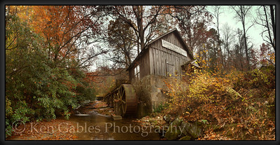 Barker's Creek Mill, Rabun County Georgia