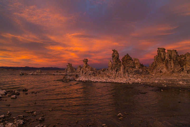 Sunset at Mono Lake.