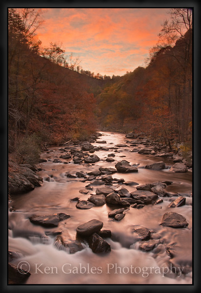Tellico River, Cherokee National Forest, Monroe County Tennessee