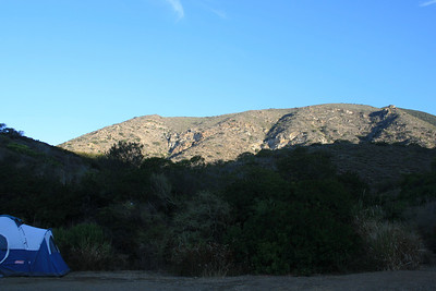 Sunrise, Point Mugu State Park, 9 Oct 2011