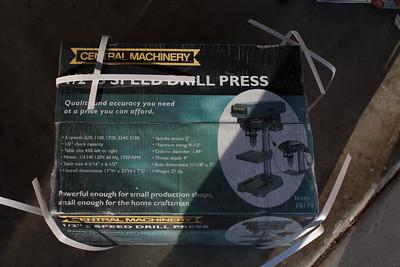 New Toy! A Drill Press!!!!!