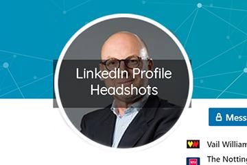 LinkedIn Profile Headshot Photography in Hampshire