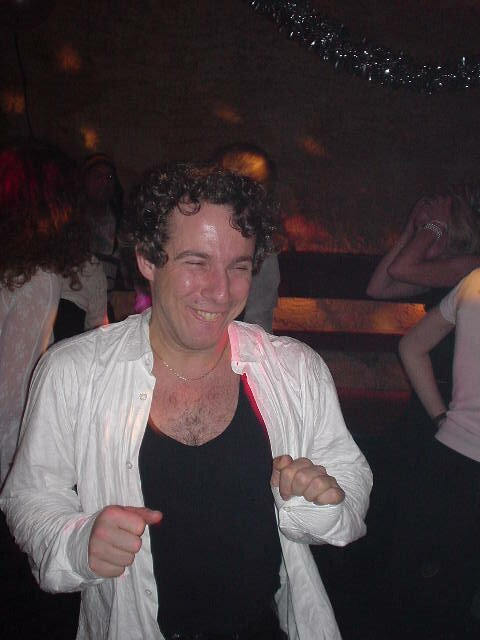 Getting down as Marco Borsato