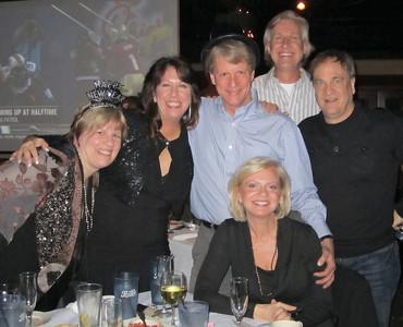 Ruby, Donna (birthday girl), Davis, Keith, Bill and (seated) Robin