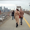 October 2003. The first parental visit. Brooklyn Bridge