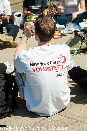 New York Cares -Chestnut Street Park Brooklyn