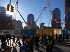 construction at WTC site