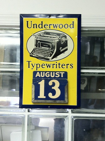 Underwood Sign