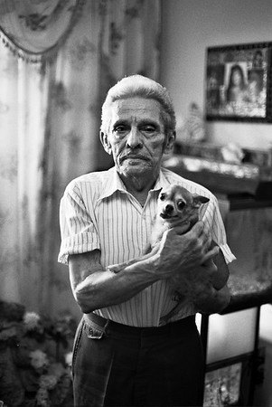 Pepe and his dog, East Harlem