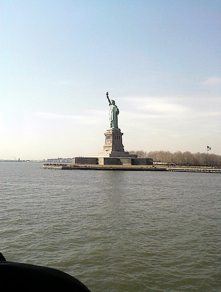 Remembering New York<br /> <br /> State of Liberty from Ferry March 2001