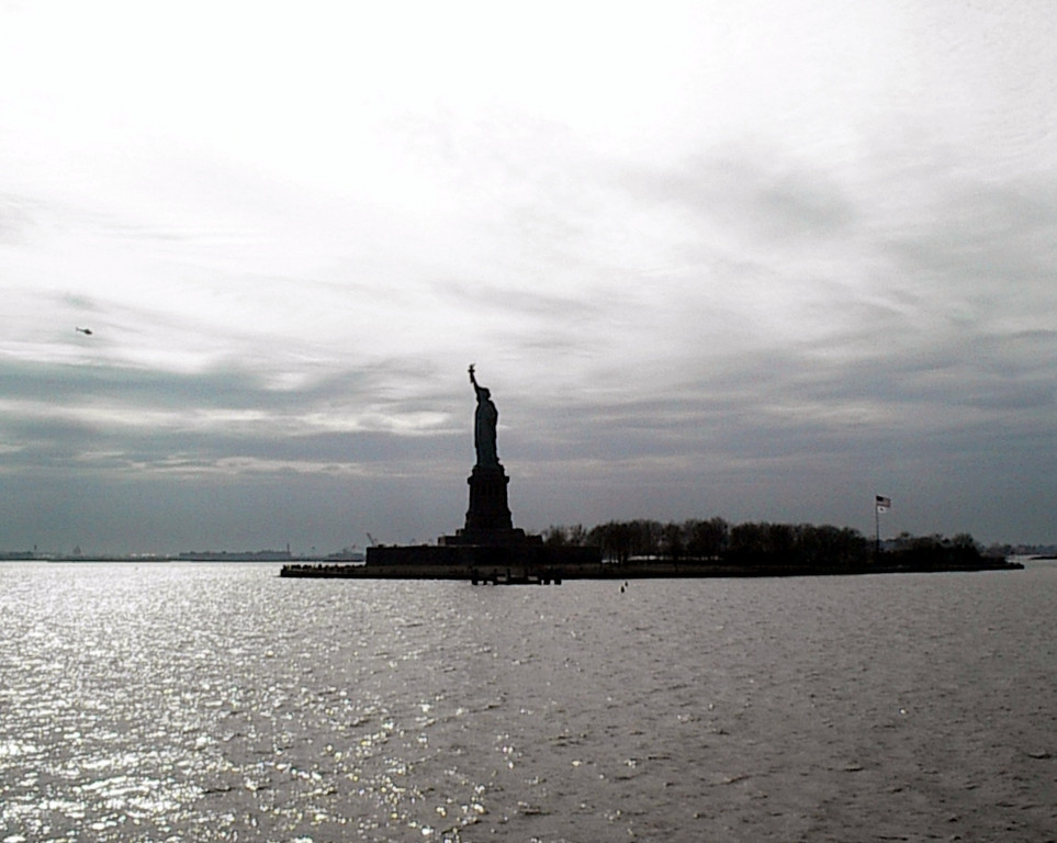 Remembering New York <br /> <br /> Statue of Liberty March 2001