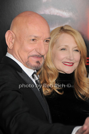 Sir Ben Kingsley, Patricia Clarkson<br /> photo by Rob Rich © 2010 robwayne1@aol.com 516-676-3939