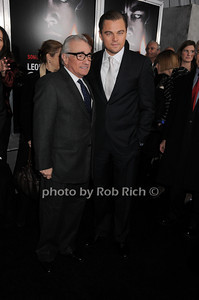 Martin Scorsese, Leonardo DiCaprio photo by Rob Rich © 2010 robwayne1@aol.com 516-676-3939