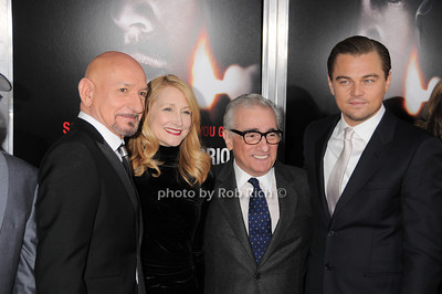 Sir Ben Kingsley, Patricia Clarkson, Martin Scorsese, Leonardo DiCaprio photo by Rob Rich © 2010 robwayne1@aol.com 516-676-3939