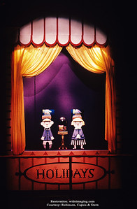 """The Better Living Pavilion's Borden exhibit puppet sideshow for """"Holiday Jamboree"""""""
