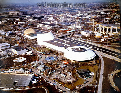 World's Fair, nearing the end of construction 1964.