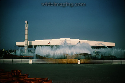 Fountain of the Planets and the Bell Telephone Pavilion, 1964-65 World's Fair