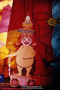 The Better Living Pavilion's Borden exhibit puppet show.