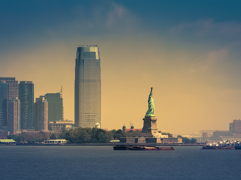 How to Become a Travel Photographer – New York. Taken from Staten Island Ferry.
